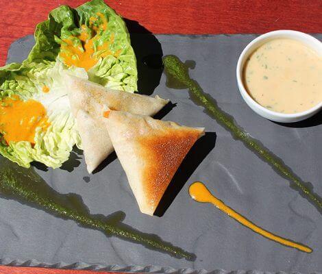 Recette dietetique Croustillant de crabe, Thalasso Oleron